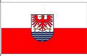 Königsbanner Hochformatflagge Arendsee (Altmark) - 120 x 300cm - Flagge und Fahne
