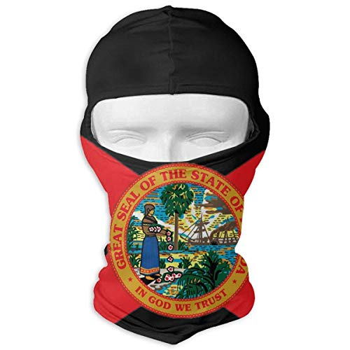 (Wdskbg The Flag of Florida State Balaclava Face Mask Hood Outdoor Sport Hat for Ski,Cycling,Motorcycling,Climbing Design3 Balaclava Windproof Ski Face Mask Novelty Fashion Design18)