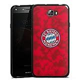 DeinDesign Huawei Y6 II Compact Silikon Hülle Case Schutzhülle FC Bayern München Camouflage FCB