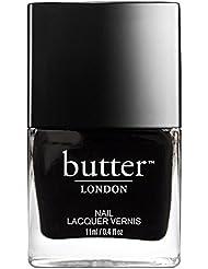 butter LONDON Nagellack, dunkle Grautöne, Union Jack Black, 11 ml