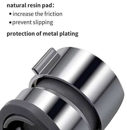 Soporte de ducha de mano Soporte de cabezal de ducha ajustable 360 /° para di/ámetro 21MM Cabezal de barra de deslizamiento ABS Cabeza de cromo Cromo plateado