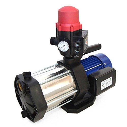 Hauswasserautomat Gartenpumpe Multi 1300 INOX 5400 L/h 6 bar + Schaltautomatik