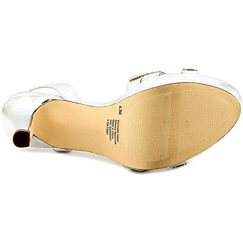 Style & Co Sandrah Femmes Synthétique Sandales Compensés silver