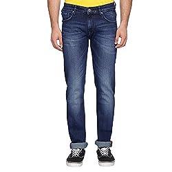Louis Philippe Mens Jeans (202777085_Dark Blue_38)