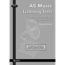 OCR AS Music Listening Tests - 4th Edition (Supplement) by Various (2015-08-10)