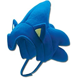 Ge Animation Sonic The Hedgehog Plush Sonic Hat (gorro/sombrero)