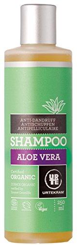 Aloe-shampoo (Urtekram Aloe Vera Shampoo Bio, Antischuppen, 250 ml)