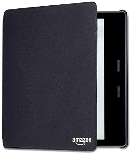 Kindle Oasis ( 9th and 10th Gen) Leather Amazon Cover , Black