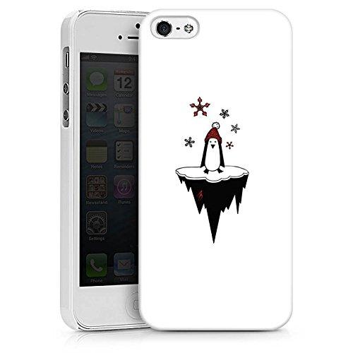 Apple iPhone X Silikon Hülle Case Schutzhülle Pinguin Comic Tier Hard Case weiß