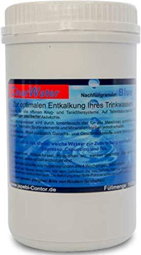 JaPeBi Nachfüllgranulat 1000ml für Wasserfilter von AEG Bosch DeLonghi Jura Krups LauraStar Melitta Nivona Saeco Siemens