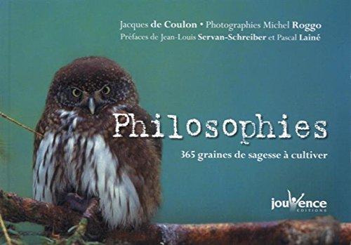 Philosophies : 365 graines de sagesse à cultiver