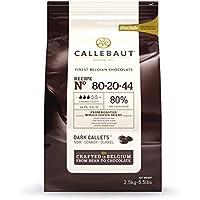 virutas de chocolate negro Callebaut ( 80% ) Callets