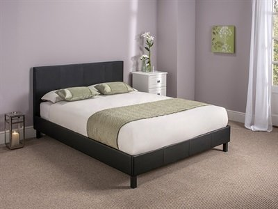 Snuggle Beds Manhattan (Black) 4FT6 Double Bed Frame