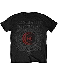 Official T Shirt CROSSFAITH Watermark ORNAMENT Logo All Sizes