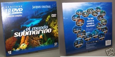 Cousteau: Die Geheimnisse des Meeres (18 DVDs)