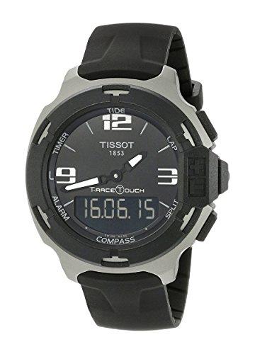 Preisvergleich Produktbild Tissot Herren t0814209705701t-race Touch Analog-Digital-Display Swiss Quartz Black Watch