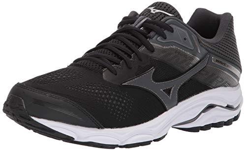 Mizuno Wave Inspire 15, Zapatillas para Correr para Hombre, Sombra Oscura Negra, 41 EU