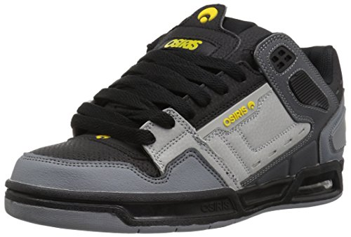 09bb9ae6f6 Osiris Shoes Peril Charcoal Black Yellow (EU 41.5)