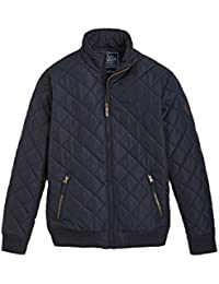 Joules Mens Hanbury Warm Quilt Padded Bomber Jacket