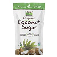 Now Foods Real Food Organic Coconut Sugar - 454 g