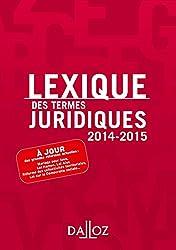 Lexique des termes juridiques 2014/2015 - 22e éd.