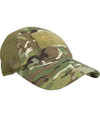 Combat Operators Mesh Baseball Cap with Id Panel Panel-mesh-cap