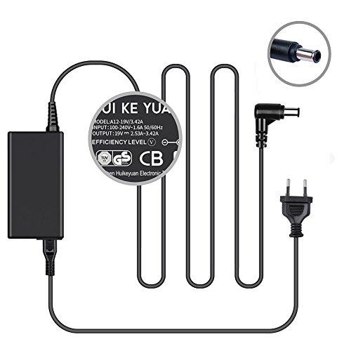[TUV GS] HKY19V 65W Monitore Netzteil Ladekabel für LG Electronics 19'' 20'' 22'' 23'' 24'' 27'' LED LCD Monitor, LG 24MA31D 24MA31D-PU 26MA31D, LG Flatron M2080D M2080D-PN M2780D-PZ LED LCD HDTV Monitor, LG Electronics 29EA73 29EA73-P 29EB73, LG 29LN4510, P/N. DA-65F19 Netzkabel Für Lg Tv