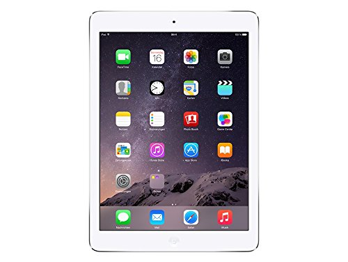 "Apple iPad Air, 9,7"" mit WiFi, 16 GB, 2013, Silber"
