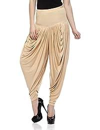 Sakhi Sang Women's Viscose Dhoti Salwar [SS0804_Free Size_Beige]
