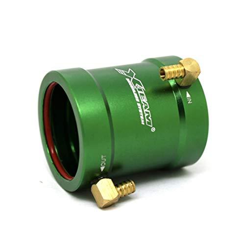 Preisvergleich Produktbild LouiseEvel215 X-Team 36-40 Wasserkühlmantel Abdeckung Modell Zubehör für 3650 / 3660 Brushless-Motoren RC-Boote Schiffsersatzteile
