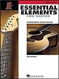 hal leonard essential elements pour guitare ? livre 2