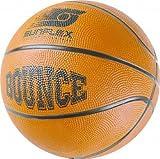 Basketball BOUNCE Der sunflex Basketball BOUNCE in Turniergröße 7 mit PVC-Vernähung lässt jeden Rebound gelingen und springt dank Gummiblase beeindruckend hoch. Maschinenvernäht.