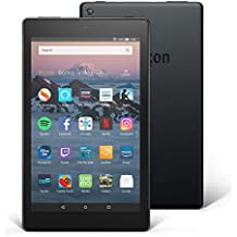 "Certified Refurbished Fire HD 8 Tablet | Hands-Free with Alexa | 8"" HD Display, 16 GB, Black - with Special Offers"