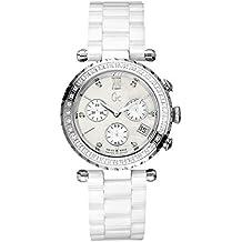 Guess I01500M1 - Reloj Analógico Para Mujer, color Blanco/Blanco