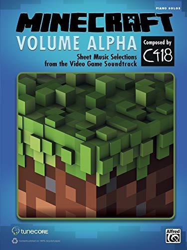 MINECRAFT VOLUME ALPHA   |  Klavier  |  Buch (Alfred Klavier Fingersatz)