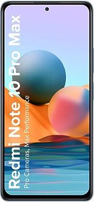 Redmi Note 10 Pro Max (Glacial Blue, 6GB RAM, 128GB Storage) -108MP Quad Camera|120Hz Super Amoled Display