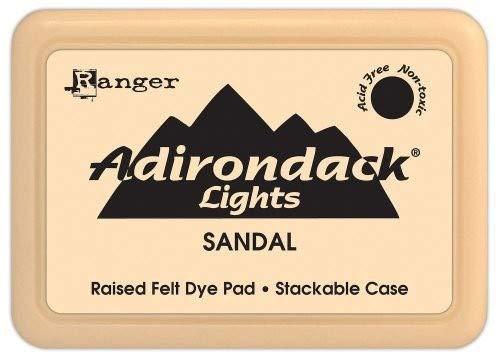Ranger Sandale Adirondack-Stempelkissen, braun -