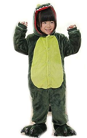 Brinny Ensemble de Pyjama Vêtement Nuit Mixte Enfant Fille Garçon Costume Déguisement Carvanal Animal Combinaison Dragon 125