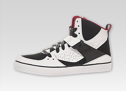 Nike - air jordan flight 45 vulcanized - 683366-112 - blanc baskets mode homme Blanc