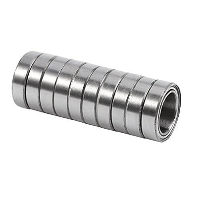 10 stücke 6700ZZ Kugellager Dünnschliff Mini Doppel geschirmt 10 * 15 * 4mm
