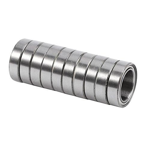 10 Stücke 6700ZZ Stahl Dünne Kugellager Rillenkugellager Doppel Schild 10mm x 15mm x 4mm Kugellager
