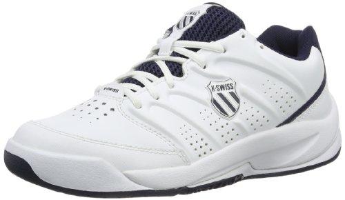 K-Swiss Performance Ultrascendor Omni, Unisex-Kinder Tennisschuhe, Weiß (White/Navy/Silver  167), 37 EU (4 Kinder UK)