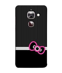 Fuson Designer Back Case Cover for LeEco Le 2s :: LeEco Le 2 Pro :: LeTV 2 Pro :: Letv 2 :: LeEco Le 2 (Hearts Hello Kitty Cat Pink Love )