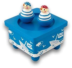 Vicky Tiel Ulysse - Caja de música para bebé (3878)