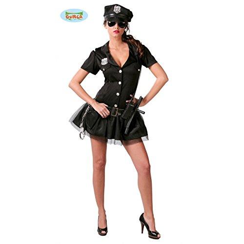 sexy Polizistin Kostüm für Damen Gr. S/M, (Cop Ideen Kostüme)