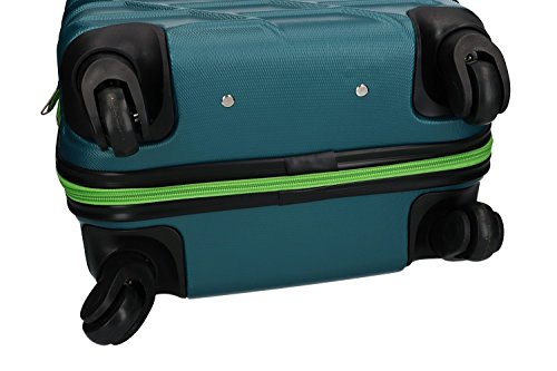 413 psypDPL - Maleta rígida PIERRE CARDIN petróleo mini equipaje de mano ryanair VS187