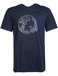 Versace - T-shirt - Manches Courtes - Homme bleu bleu Small