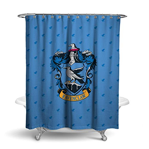 Robe Factory Harry Potter Duschvorhang mit Allen Häusern Ravenclaw