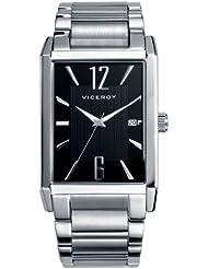 Viceroy 40367-55 - Reloj para hombres, correa de acero inoxidable