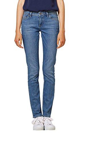 edc by ESPRIT Damen Slim Jeans 998CC1B814, Blau (Blue Light Wash 903), W26/L30
